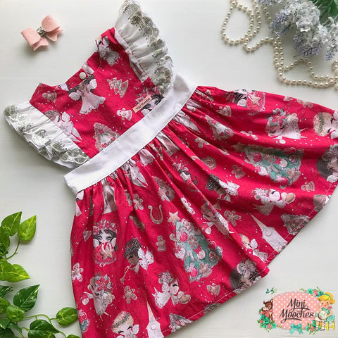 Holly Jolly Red Polly Christmas Dress - Pre Order