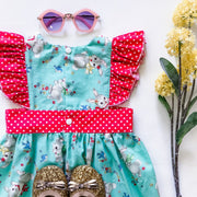 Minnie Pinafore Dress