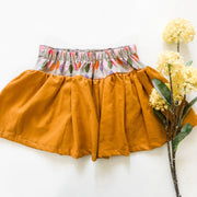Quinn Twirly Skirt - Mini Mooches is an Australian owned business specialising in handmade clothing and accessories for girls aged between 1-10. Beautifully designed Floral Dresses, Peplum Tops, Suspender skirts and shorts. Special occasions to everyday wear.