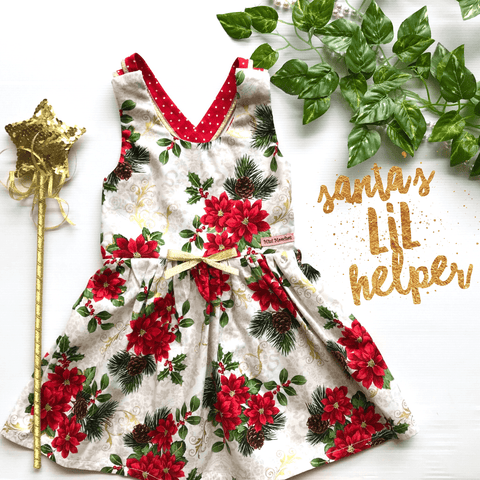 Santa's Lil Helper Stella Dress