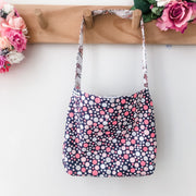 Mini Tote Bag - Woodland Friends - Mini Mooches is an Australian owned business specialising in handmade clothing and accessories for girls aged between 1-10. Beautifully designed Floral Dresses, Peplum Tops, Suspender skirts and shorts. Special occasions to everyday wear.