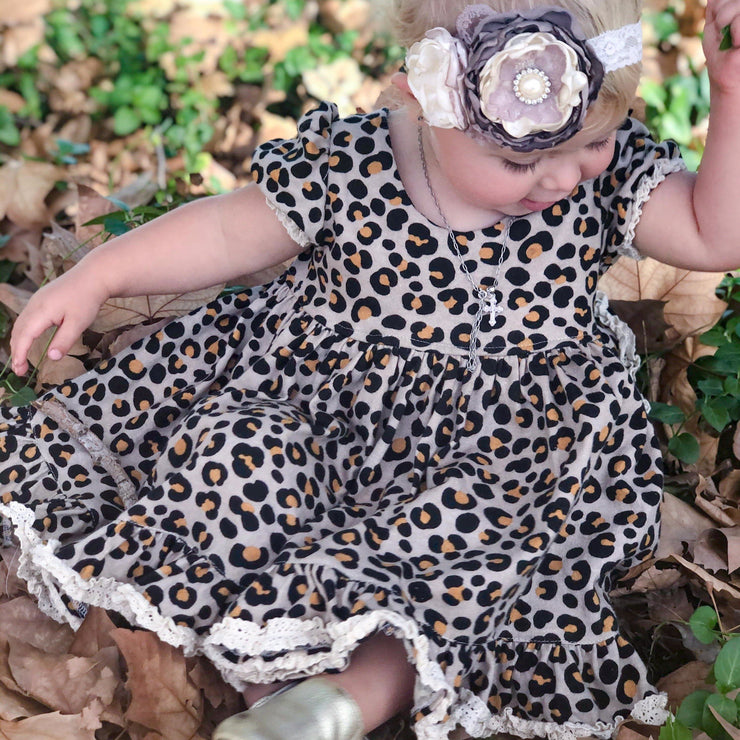 Puffed Sleeve Tea Dress - Frankie - Mini Mooches is an Australian owned business specialising in handmade clothing and accessories for girls aged between 1-10. Beautifully designed Floral Dresses, Peplum Tops, Suspender skirts and shorts. Special occasions to everyday wear.