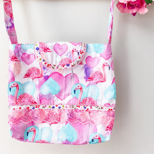 Mini Handbag - Flamingo