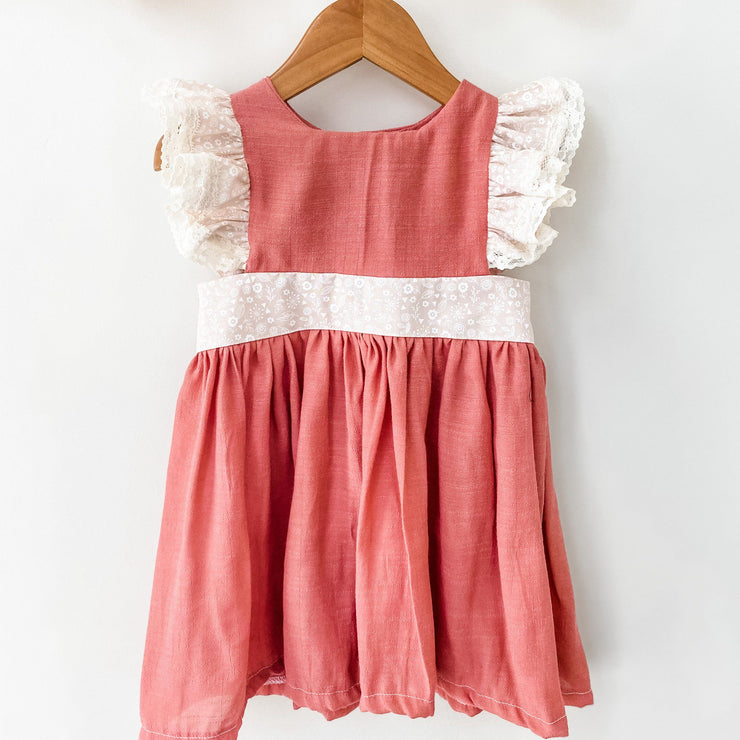 Pinafore Dress - Nicola