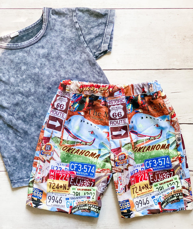 Boys Shorts - Texas