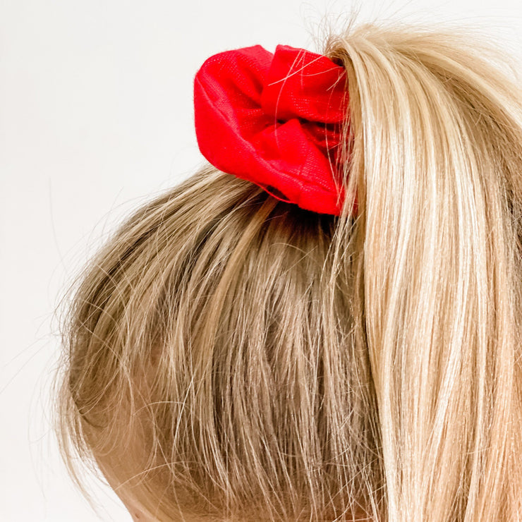 Scrunchies - Christmas Red