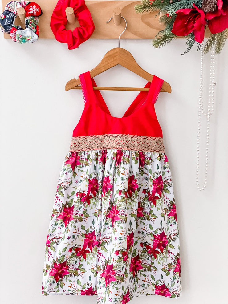 Christmas Hummingbird Dress - Scarlett