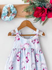 Christmas Hummingbird Dress - Unicorn