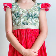Christmas Tea Dress - In stock