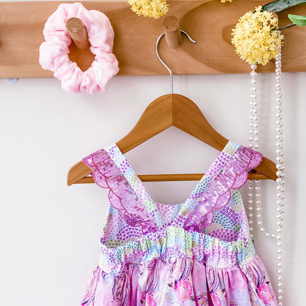Hummingbird Dress - Unicorn Magic