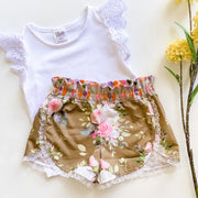 Tulip Shorts - Rose