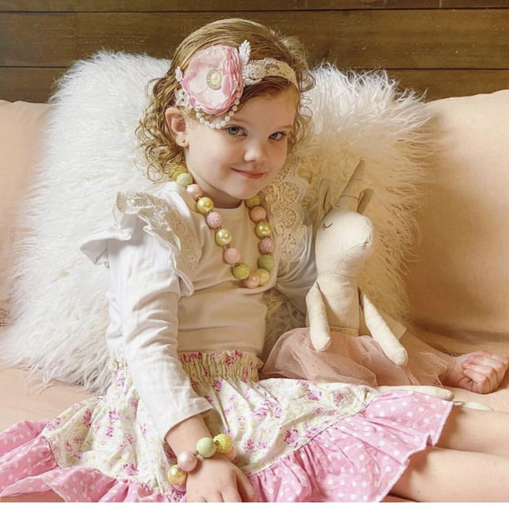 Twirly Skirt - Charn - Mini Mooches is an Australian owned business specialising in handmade clothing and accessories for girls aged between 1-10. Beautifully designed Floral Dresses, Peplum Tops, Suspender skirts and shorts. Special occasions to everyday wear.