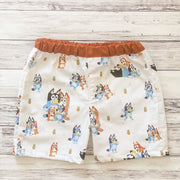 Bluey Boys Shorts - In stock