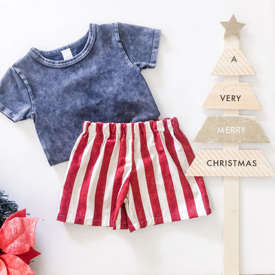 Boys Shorts - Elf Candy - Mini Mooches is an Australian owned business specialising in handmade clothing and accessories for girls aged between 1-10. Beautifully designed Floral Dresses, Peplum Tops, Suspender skirts and shorts. Special occasions to everyday wear.