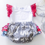 Faith Ruffle Christmas Bloomers