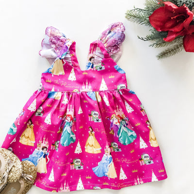 Princess Christmas Hummingbird Dress