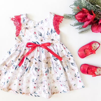 Marigold Christmas Tea Dress