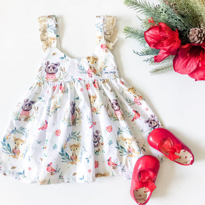 Hope Christmas Hummingbird Dress (1 week pre-order)