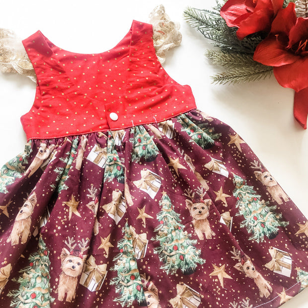 Mia Mia Christmas Tea Dress