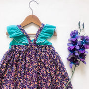 London Hummingbird Dress - Mini Mooches is an Australian owned business specialising in handmade clothing and accessories for girls aged between 1-10. Beautifully designed Floral Dresses, Peplum Tops, Suspender skirts and shorts. Special occasions to everyday wear.