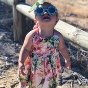 Jive Dress - Layla - Mini Mooches is an Australian owned business specialising in handmade clothing and accessories for girls aged between 1-10. Beautifully designed Floral Dresses, Peplum Tops, Suspender skirts and shorts. Special occasions to everyday wear.