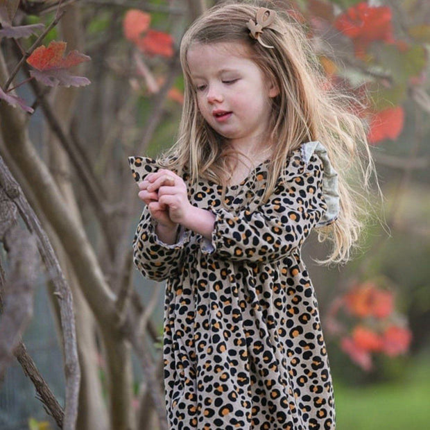 Tea Dress - Frankie - Mini Mooches is an Australian owned business specialising in handmade clothing and accessories for girls aged between 1-10. Beautifully designed Floral Dresses, Peplum Tops, Suspender skirts and shorts. Special occasions to everyday wear.