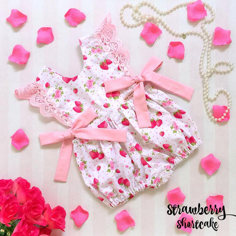Strawberry Shortcake Hampton Romper - PRE-ORDER