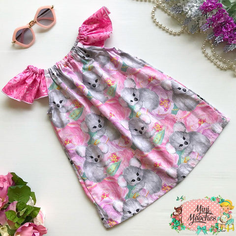 Cuddly Koala Ruby Dress - Pre Order