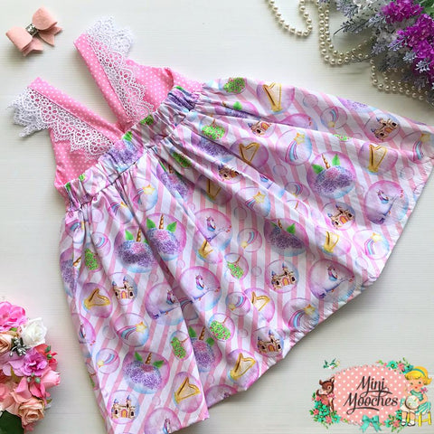 Land of Unicorns Hummingbird Dress - Pre Order