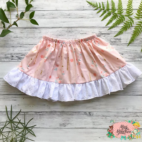 Magical Garden Pink Twirly Skirt