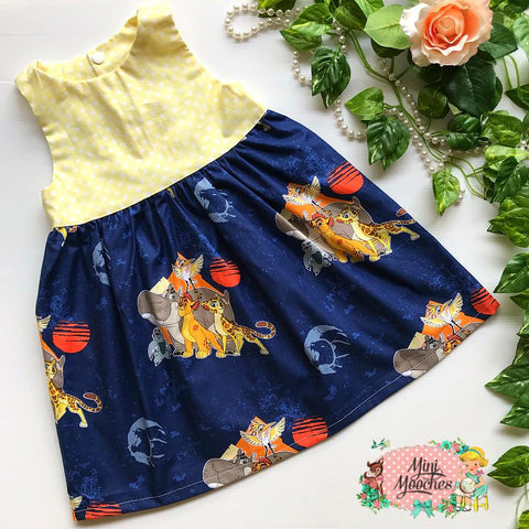 Lion King Racer Back Tea Party Dress