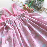 Reindeer in the Sky Hummingbird Dress