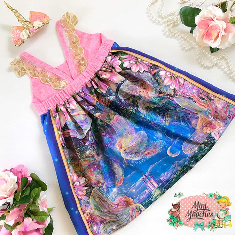 Fairy Wonderland Hummingbird Dress