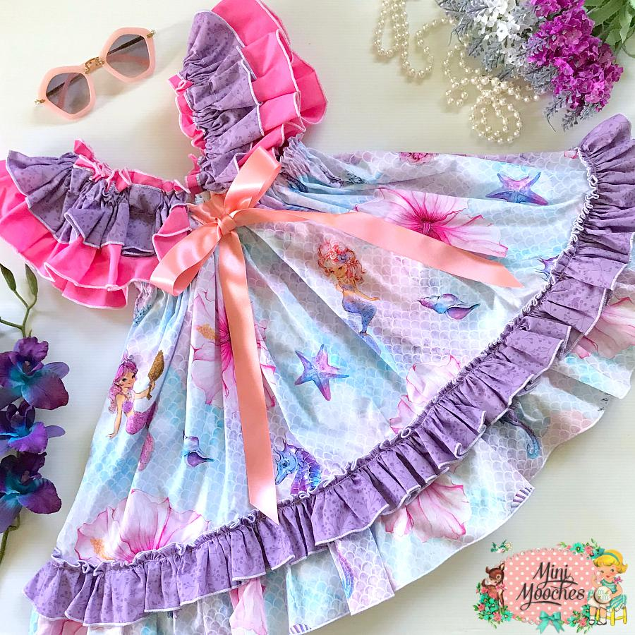 Mermaid Dreams Charlotte Dress