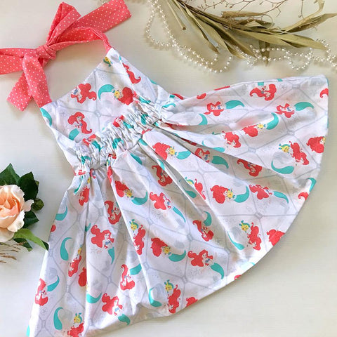 Little Mermaid White Jive Dress
