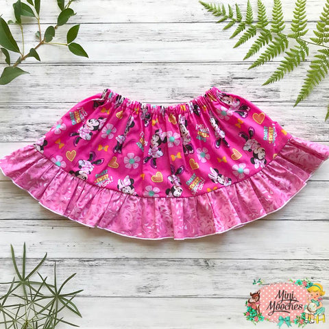 Minnie Mouse Pink Twirly Skirt