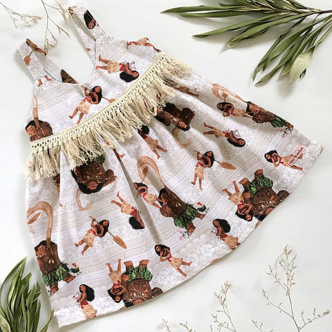 Moana Hummingbird Dress
