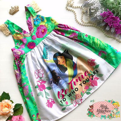 Mulan Hummingbird Dress