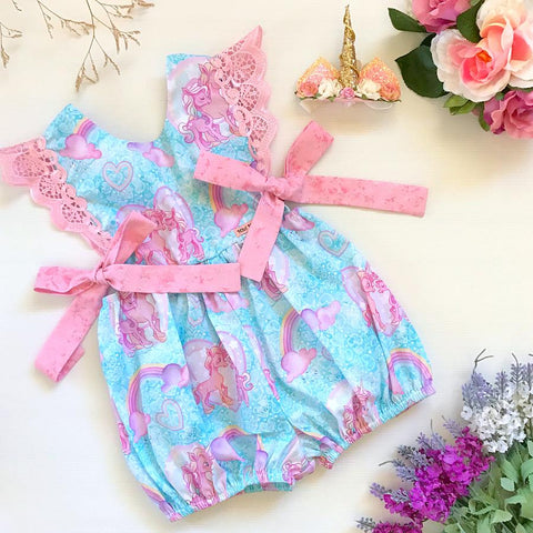 My Little Unicorn Hampton Romper - Pre order