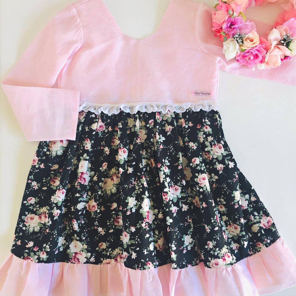 Night Garden - Tea Party Dress