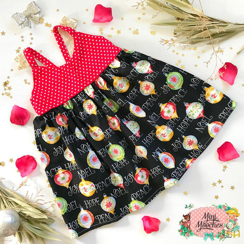 Night Before Christmas Hummingbird Dress