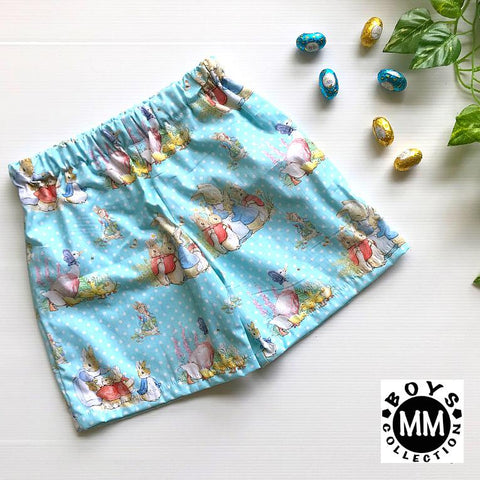 Peter Rabbit Blue Boys Shorts