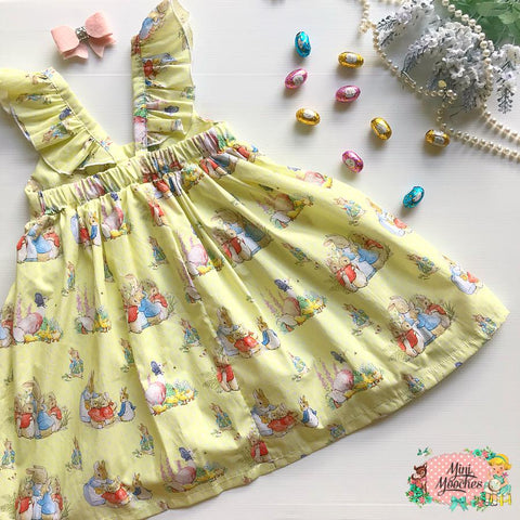 Peter Rabbit Yellow Hummingbird Dress - Pre Order