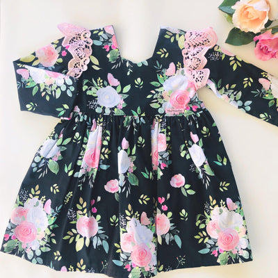 Pink Rose - Tea Party Dress