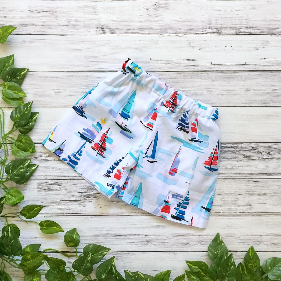 Sail Away Boys Shorts