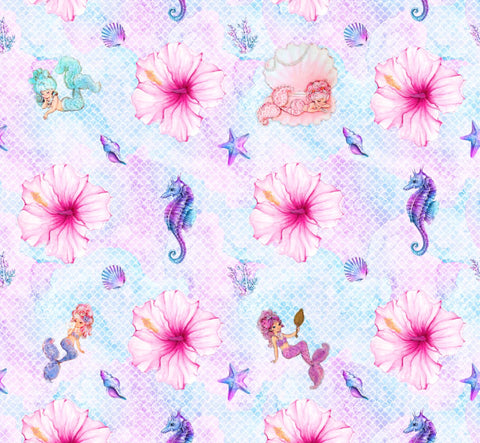 Mermaid Dreams - MM Exclusive Fabric Print