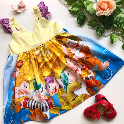 Snow White & the Seven Dwarfs Hummingbird Dress