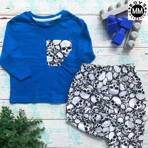 Skulls Harem Pants Set