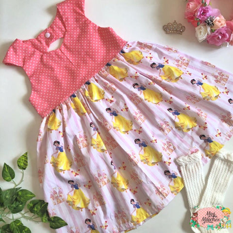 Snow White Dancing Tea Party Dress