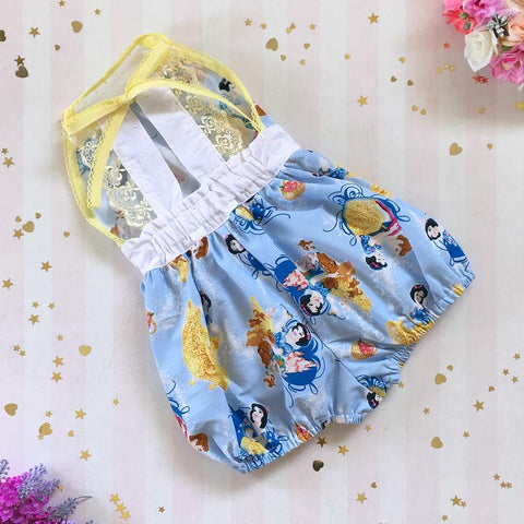 Snow White Haven Romper